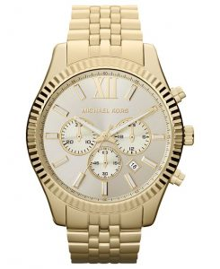 Michael Kors Men's Lexington Chronograph Stainless Steel Best Watches for Men