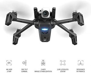 Parrot PF728000 Anafi wit 4k UHD best drones with camera