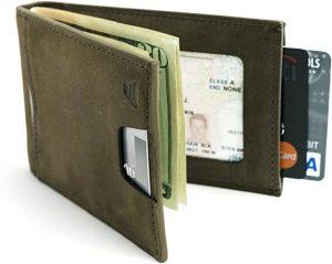 Andar Leather Minimalist Bifold Best Wallets for Men