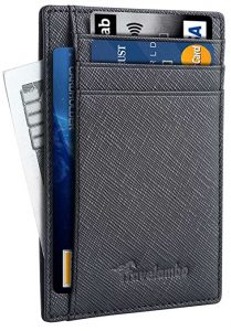Travelambo Front Pocket Minimalist Wallet