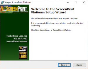 10.Install-the-program-plantinum setup wizard..