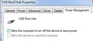 4 USB Device Not Recognized
