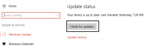 7.click-check-for-updates-under windows.