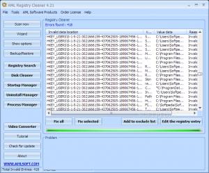 AML Registry Cleaner