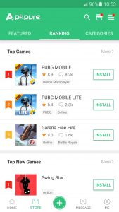 APKPure Best Android APK Download Site