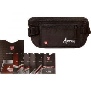 Alpha Keeper RFID Travel Money Belt