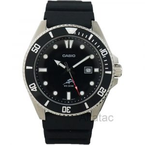 Casio MDV106-1A Black Analog
