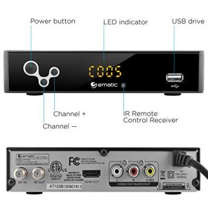 Ematic Digital TV Converter Box