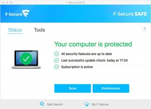 F-Secure Antivirus SAFE