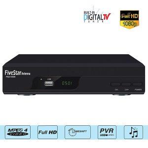 Five Star ATSC HD Digital TV Converter Box
