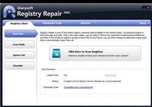 Glarysoft's Registry Repair
