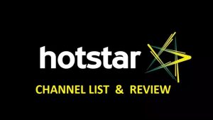 . Hotstar Free Sports Streaming Sites