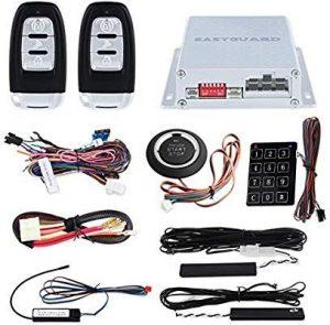 InstallGear Car Alarm Security & Keyless Entry System