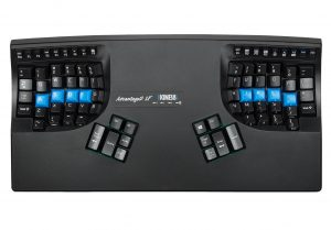 Kinesis Advantage2 Quiet LF Ergonomic Keyboard