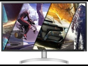 LG 32UK50T-W 32″ 4K UHD Gaming monitor