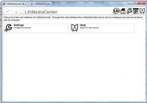 LXiMediaCenter