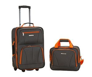 Rockland Charcoal One Size Luggage