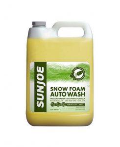 Sun Joe snow foam auto wash soap
