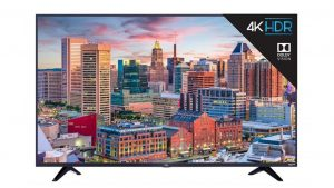 TCL 65-Inch 65S525 4K UHD Dolby Vision HDR Roku Smart TV