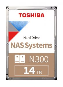 Toshiba N300 14TB NAS Internal Hard Drive