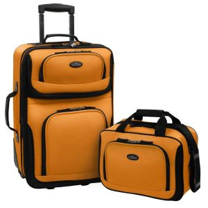 U.S. Traveler Rio Carry-on Rolling Luggage