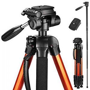 Victiv 72″ Camera Tripod Best Tripod for DSLR Cameras