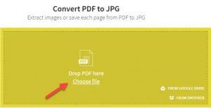 insert pdf into word