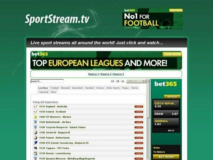Sportstream Tv