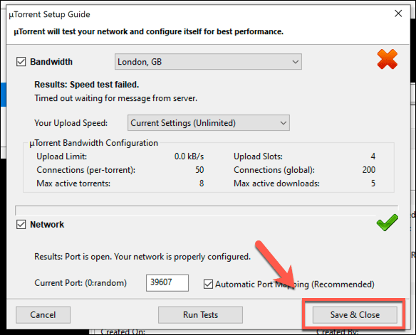 utorrent connecting to peers