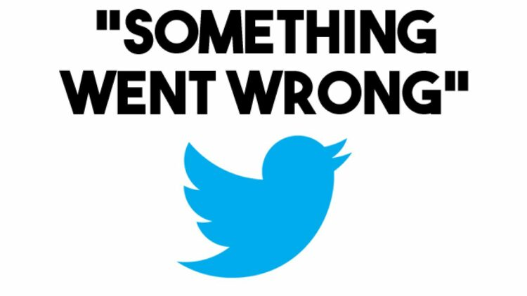 twitter something went wrong