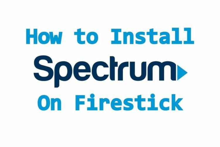 how to download spectrum tv app on firestick