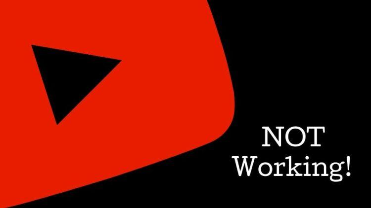 youtube won't play
