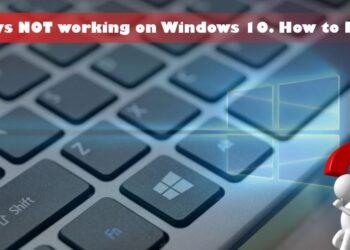 fn keys not working windows 10