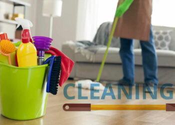 full house cleaning