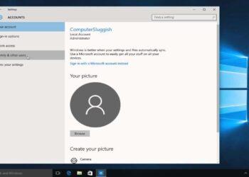 change user name windows 10