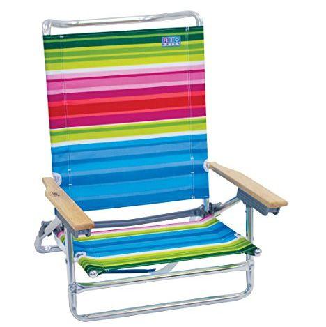Lay Flat Folding Beach Chair