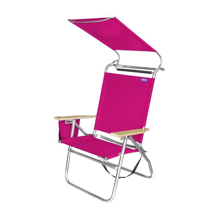 Big Tycoon Canopy Beach Chair