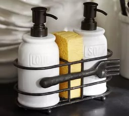 Cucina Forks Soap & Lotion Caddy