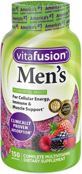 Vitafusion Men's Multivitamins
