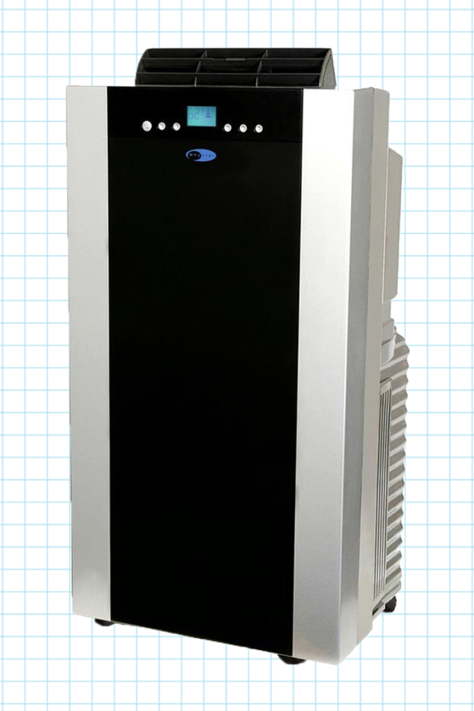 Double Hose Portable Air Conditioner with Heater