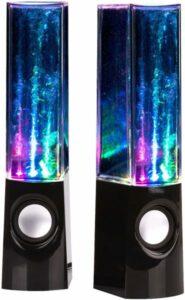 uTronix LED Fountain Multi Color Dancing Water Speaker
