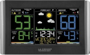 La Crosse Technology C85845-1 Colors Wireless Forecast Station
