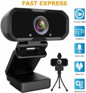 Svcouok Webcam 1080P HD Computer Camera