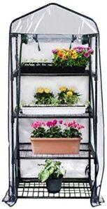 Gardman R687 4-Tier Mini Greenhouse