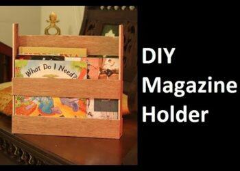 wooden magazine files