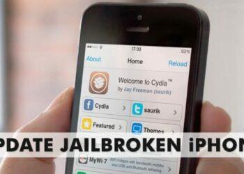 Jailbroken iPhone to iOS