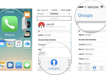 fix contacts missing iphone