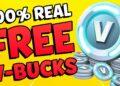 free v bucks fortnite