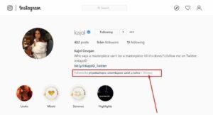 Mutual followers Instagram app