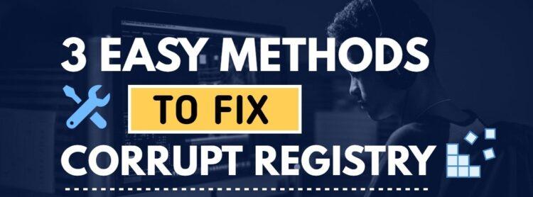 free registry repair Windows 10